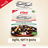 Novità I BUONI E PRONTI! La nuova linea con le nostre specialità veloci e gustose, insalate di riso già pronte;  Agita, apri e gustale subito! Scopri di più su: https://www.risodellasardegna.it/buoni-e-pronti/  #risodellasardegna #food #cibo #mare #vacanze #mangiaresano #mangiare #health #healthyfood #sardegna #sardinia #riso #risovenere