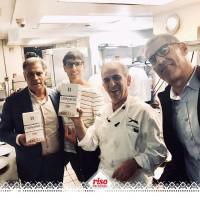 Orgogliosi che il nostro #riso abbia incontrato #chefvitognazzo e #gianfrancosorrentino  del @ilgattopardonyc grazie a @the_one_company  #risodellasardegna #risotto #food #restaurant  #newyork #nyc #nycfood